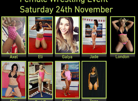 Two new ladies added to 24th November Line-up