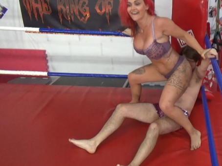 Roxi Keogh Humiliates Chicken Boy Dave - rematch