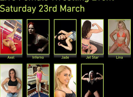 Line-up for March 2019 Female Event announced