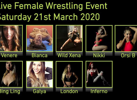 Full line-up announced for March female event
