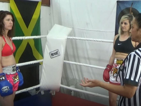 Jade v McKenzie - Custom thai boxing match