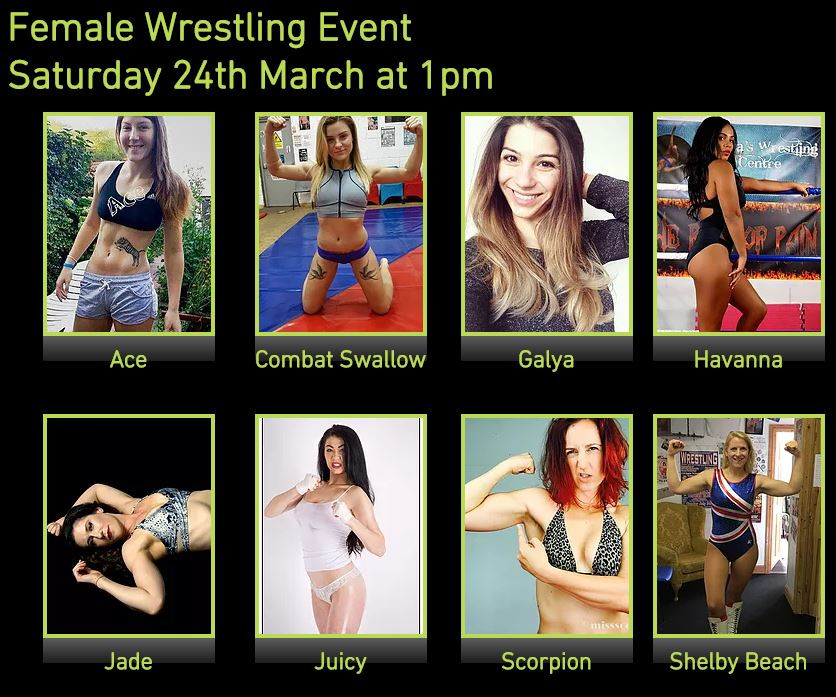 Female Wrestling Event Line-Up