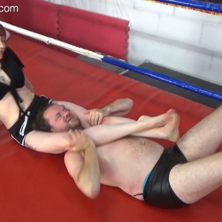 Eva Ray Humiliates Chicken Boy - rematch