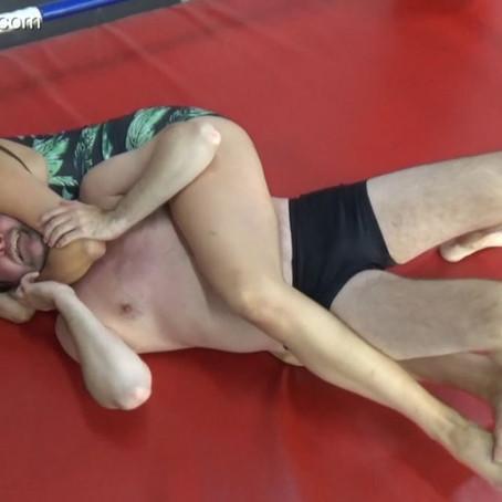 McKenzie Humiliates Chicken Boy Dave - rematch