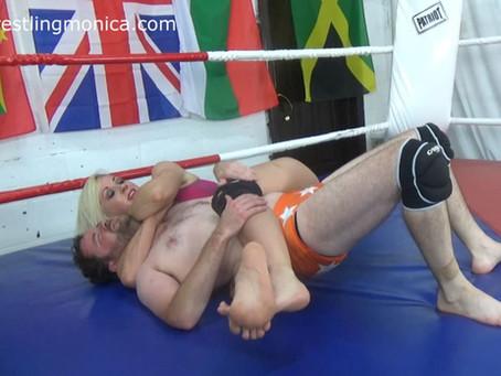 Viper dominates & destroys Dave - rematch