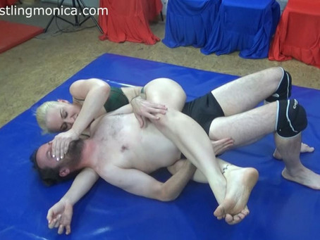 Goddess Anat dominates puny Dave