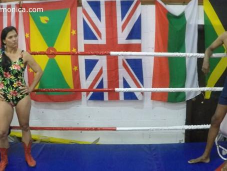 Tomiko dominates Andrew - rematch
