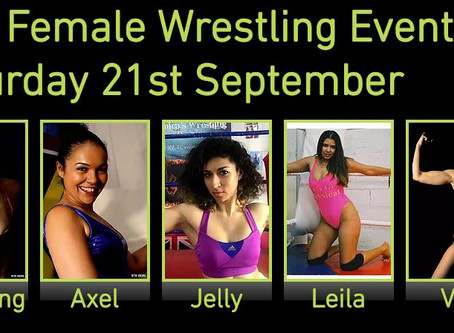 First ladies added to next Female Wrestling Event