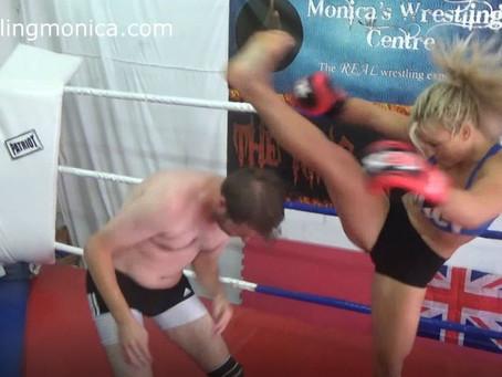 Sheena brutally beatdown on Dave