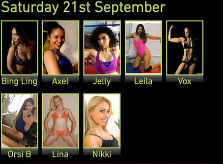 Princess Nikki added to September Female Wrestling Event