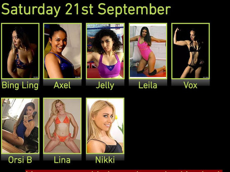 Princess Nikki added to September Female Wrestling Event
