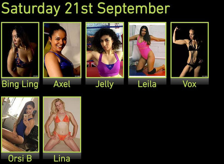 Lina & Orsi B added to Female Event Line-up