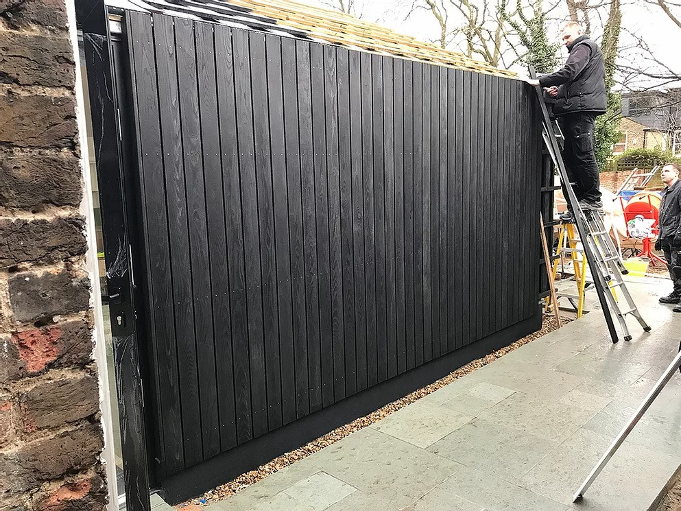 charred timber; charred cladding; black cladding; burnt cladding
