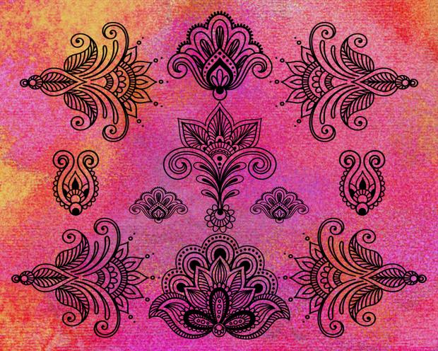 Pink Henna