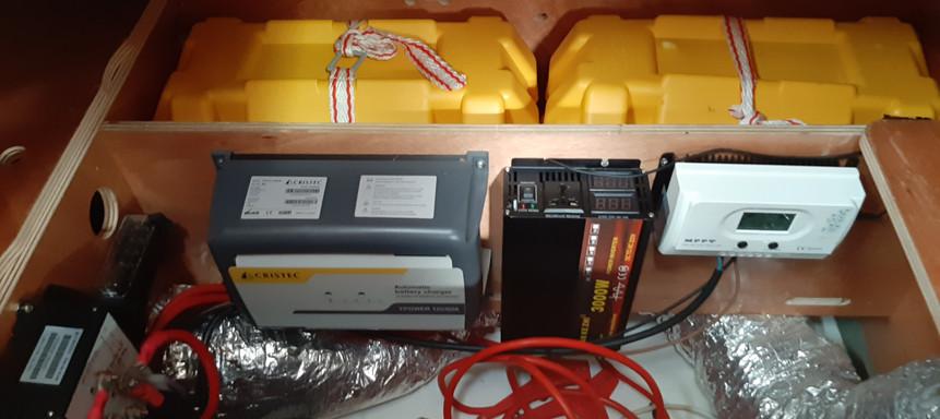 cargador baterias