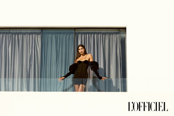 L'Officiel editorial Rebekka Eliza fashion photographer