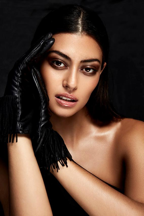 Rebekka Eliza beauty test shoot
