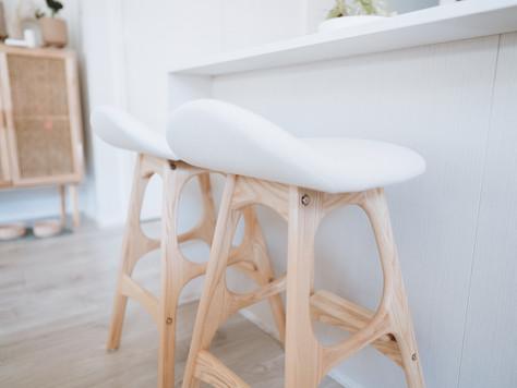 Affordable Scandinavian kitchen stools