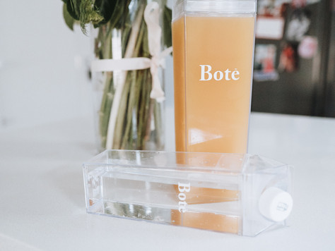 Stylish and reusable Bote bottles