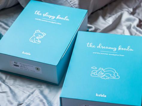 Koala Mattress Summer Sheet Set & Duvet Review