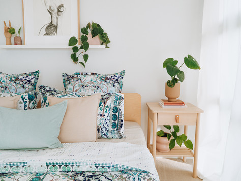 Camilla Style Parisa Teal Luxotic Sheets