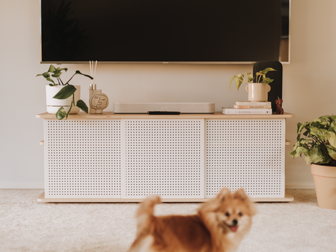 Does the Koala Tv Unit suit big tvs?