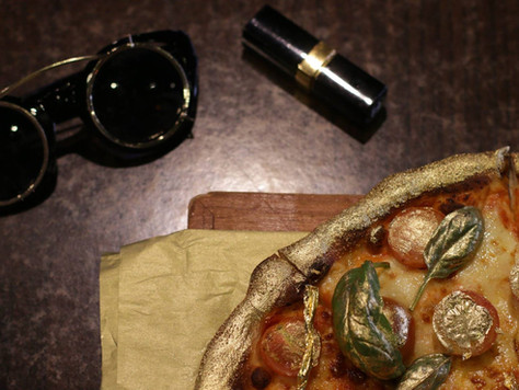 23 Carat Gold Pizza