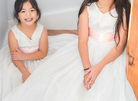 Ana Balahan: Custom Flower Girl Dresses