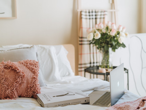 Maximise your bedroom stay during self isolation