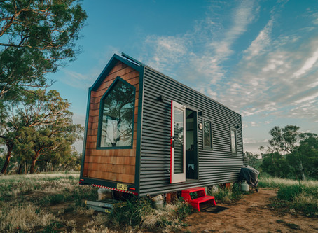Kindled Tiny Home - Sleeping on a Koala Mattress