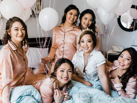 Bridal Squad Pyjama Party!