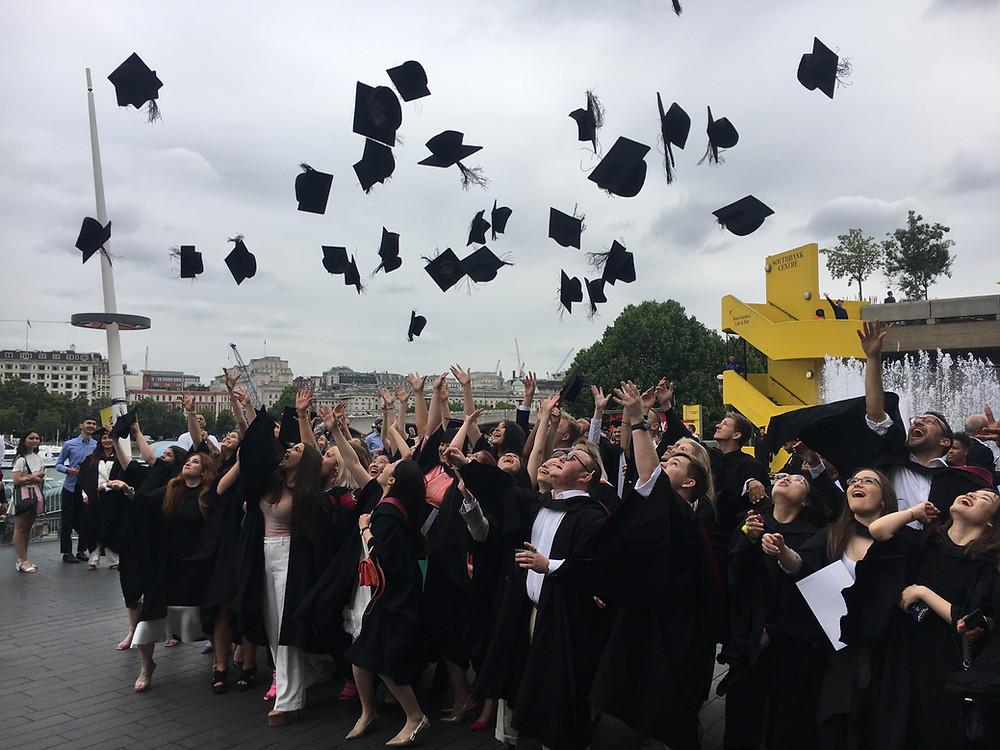 University of Westminster graduation ceremony