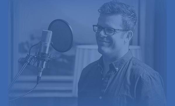 Voiceover artist - Dave Baird
