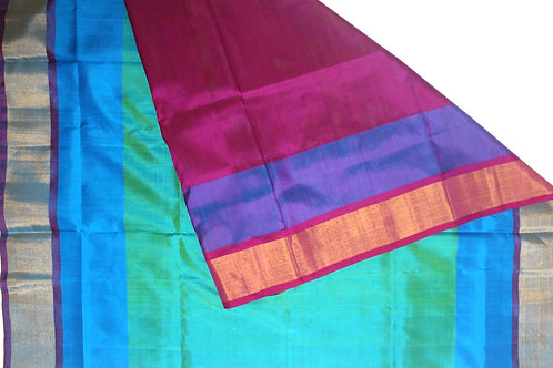 UPPADA PATTU SAREE (SOLD @ MAGGAM PRICES)