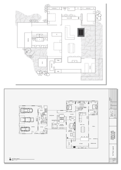 Floor Plan - Monitor Barn Style