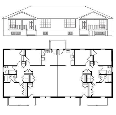 Floor Plan & Elevation - Metromont