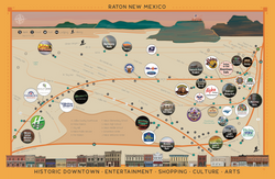 Illustrated Tourism Map