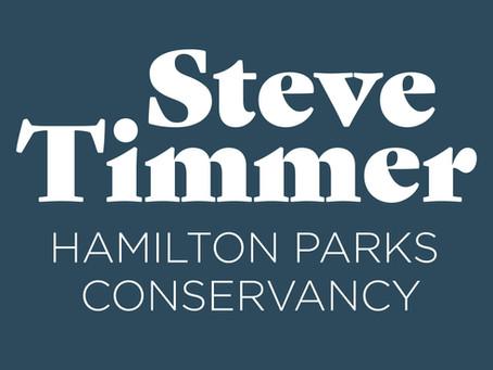 Steve Timmer Hamilton Parks Conservancy