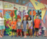 Campers from Mosaics Summer Camp