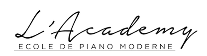 Logo L'Academy Ecole de Piano Moderne.pn
