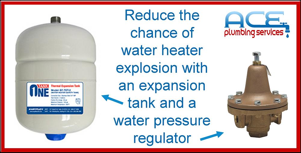 expansion tank water pressure regulator