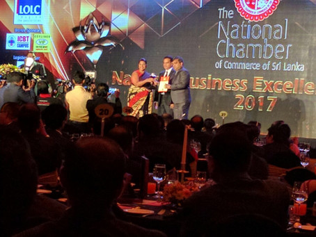 Quebee Den Wins National Business Excellence Awards 2017