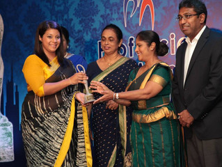 QUEBEE DEN (PVT) LIMITED wins the Best Entrepreneur Award for Small Scale Industries 2014/2015 at th