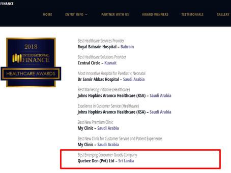 bellybees becomes the Best Emerging Consumer Brand in Sri Lanka - International Finance Magazine