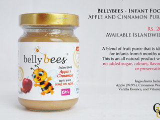Bellybees - Apple and Cinnamon Flavor Launched
