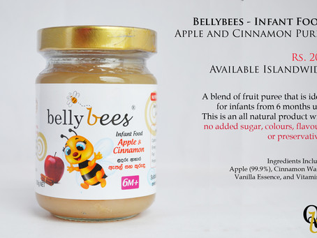 Bellybees - Apple and Cinnamon