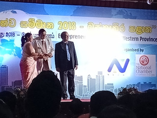 Quebee Den Wins Best Entrepreneur Award at the Western Province Awards