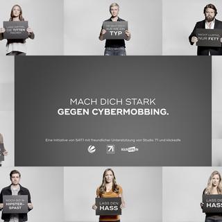 SAT.1 Kampagne: #Augenauf: Gib Cybermobbing keine Chance!
