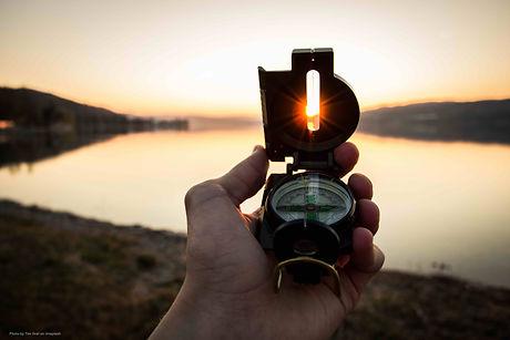 Navigate compass into sun.jpg