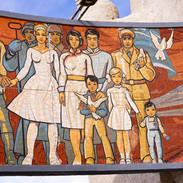 Mosaici a Ulan Baatar